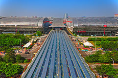 Canton fair 2011 building Stock Image