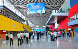 Canton fair 2011 hall 6.1 entrance Royalty Free Stock Photo
