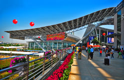 Canton fair 2011 pazhou complex, China Royalty Free Stock Image