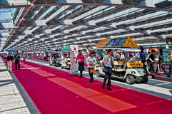 Canton fair pearl promenade Royalty Free Stock Photo