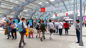 Canton fair hall 2014 Royalty Free Stock Photography