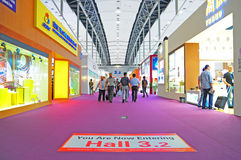 Canton fair pavillion 3.2 Stock Photos