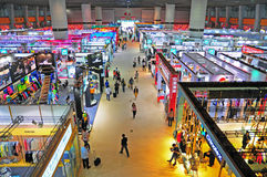 Canton fair pavillions 2013 royalty free stock image