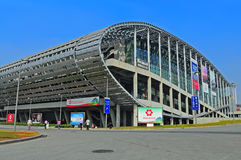 Canton fair pazhou complex stock images