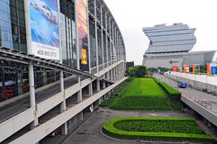 Canton fair pazhou complex Stock Photo