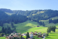 Canton of Fribourg, Switzerland Stock Photos
