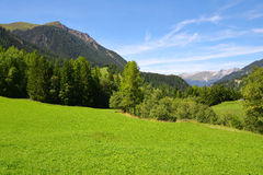 Canton Graubunden, Switzerland Stock Photography