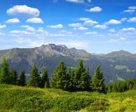 Canton of Graubunden. Switzerland Royalty Free Stock Images