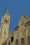 Canton, Ohio Church. Church in Canton Ohio with Blue Sky Royalty Free Stock Images