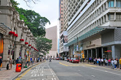 Canton road, hong kong Stock Image