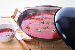 Canton tomato soup Royalty Free Stock Photography