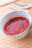 Canton tomato soup Stock Images