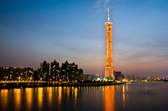 Canton tower Stock Images