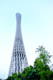Canton tower in china Royalty Free Stock Photography