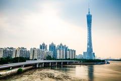 Free Canton Tower Guangzhou Stock Image - 63205751