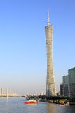 Canton tower Guangzhou modern building Stock Image