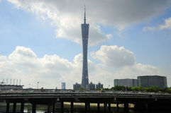 Canton Tower Guangzhou China Royalty Free Stock Images