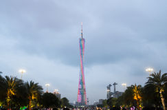 Canton tower, Guangzhou Stock Images