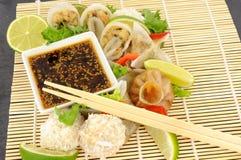 Cantonese Dekatyzować Dim Sum przekąski Zdjęcie Royalty Free