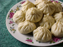 Cantonese food steamed bread Royalty Free Stock Image