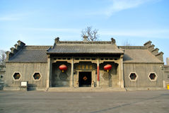 Cantonese hotel in Qing dynasty Royalty Free Stock Images