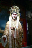 Cantonese opera actress Stock Images