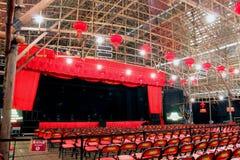 Bamboo Theatre Royalty Free Stock Photo