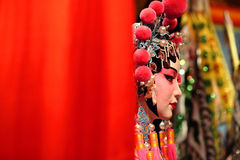 Cantonese opera dummy Stock Images