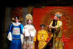 Cantonese opera in Hong Kong Royalty Free Stock Images