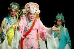 Cantonese Opera in Mui Wo water lantern festival, Hong Kong royalty free stock images