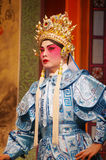 Cantonese Opera in  Mui Wo water lantern festival, Hong Kong Stock Photography