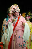 Cantonese Opera in  Mui Wo water lantern festival, Hong Kong Royalty Free Stock Photo