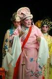 Cantonese Opera in Mui Wo water lantern festival, Hong Kong royalty free stock photo