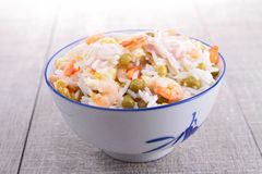 Cantonese rice Royalty Free Stock Photos