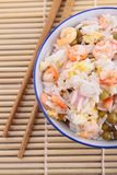Cantonese rice Royalty Free Stock Image