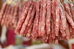 Cantonese sausage, adobe rgb Royalty Free Stock Images