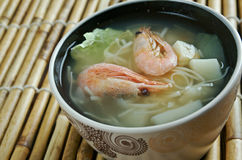 Cantonese seafood soup Stock Photos