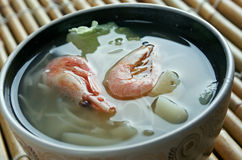 Cantonese seafood soup Stock Image
