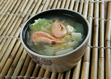 Cantonese seafood soup Royalty Free Stock Photos