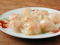 Cantonese shrimp dumplings Ha Gow Royalty Free Stock Photo
