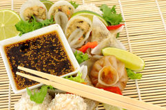 Cantonese Steamed Dim Sum Snacks Royalty Free Stock Images
