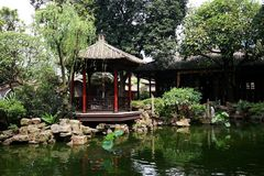 Cantonese Style Garden Stock Images