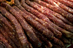 Cantonese style sausage Royalty Free Stock Photo