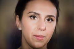 Cantor, atriz e compositor ucranianos Jamala Imagem de Stock