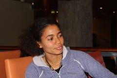 Cantor/escritor Nneka da música Fotos de Stock Royalty Free