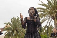 Cantor Franc?s-haitiano Moonlight Benjamin fotos de stock royalty free
