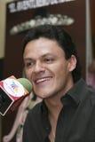Cantor Pedro Fernández de CIDADE DO MÉXICO foto de stock