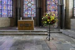 CANTORBÉRY, KENT/UK - 12 NOVEMBRE : La chapelle des saints et de mars Photographie stock libre de droits