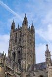 CANTORBERY, KENT/UK - 12 DE NOVIEMBRE: Vista de la catedral de Cantorbery Fotografía de archivo
