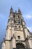 CANTORBERY, KENT/UK - 12 DE NOVIEMBRE: Vista de la catedral de Cantorbery Foto de archivo libre de regalías